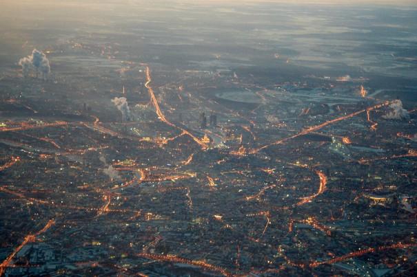 Η Μόσχα από ψηλά | Φωτογραφία της ημέρας