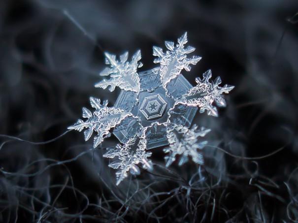 Κάθε νιφάδα χιονιού είναι μοναδική | Φωτογραφία της ημέρας