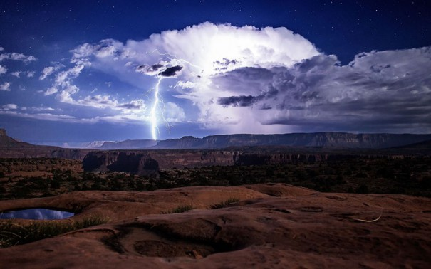 Εντυπωσιακή καταιγίδα πάνω από το Grand Canyon   Φωτογραφία της ημέρας