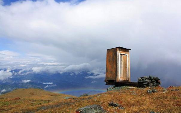 Ίσως η πιο απομακρυσμένη τουαλέτα στον κόσμο | Φωτογραφία της ημέρας