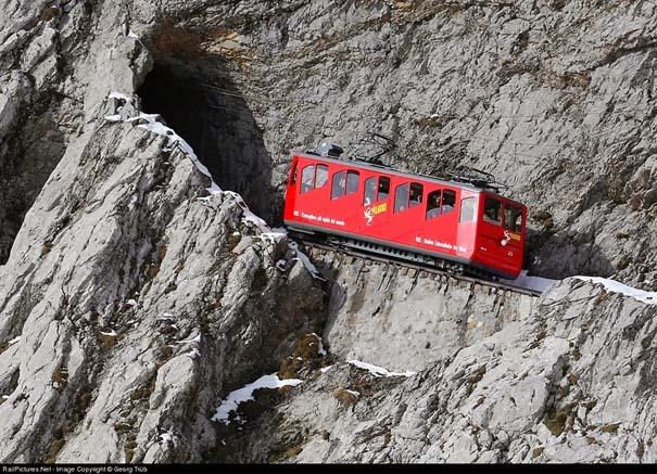 Ο πιο απότομος οδοντωτός σιδηρόδρομος στον κόσμο με 48% κλίση (3)