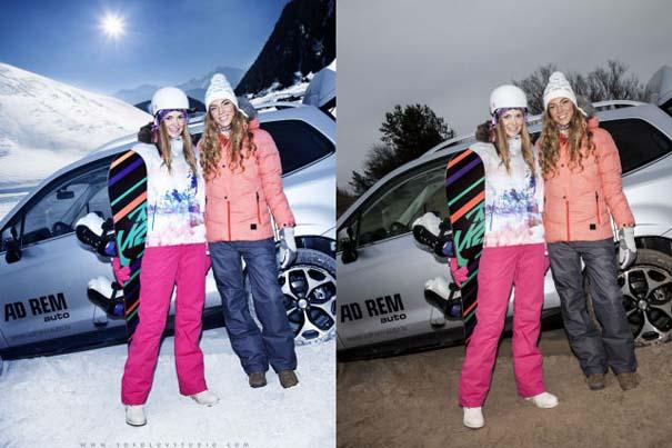 Η πραγματικότητα πίσω από μια χειμερινή φωτογράφιση μόδας (3)
