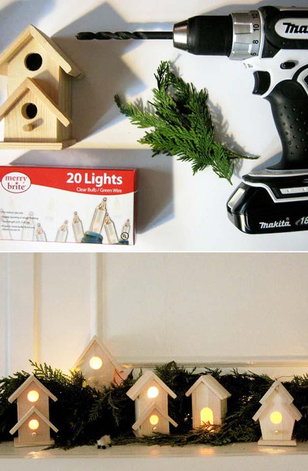 Πρωτότυποι χειροποίητοι Χριστουγεννιάτικοι στολισμοί (5)