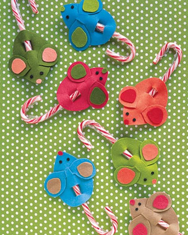 Πρωτότυποι χειροποίητοι Χριστουγεννιάτικοι στολισμοί (6)