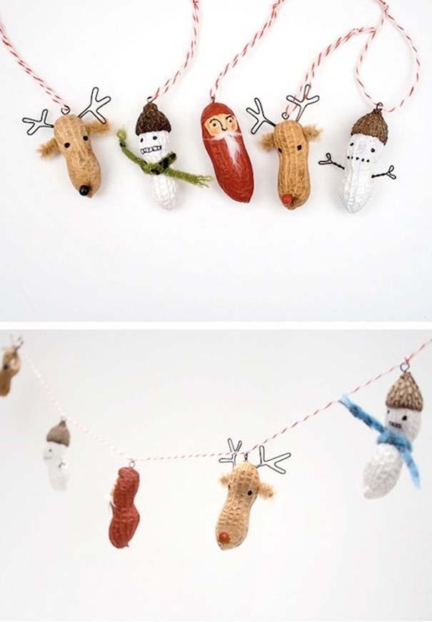 Πρωτότυποι χειροποίητοι Χριστουγεννιάτικοι στολισμοί (12)