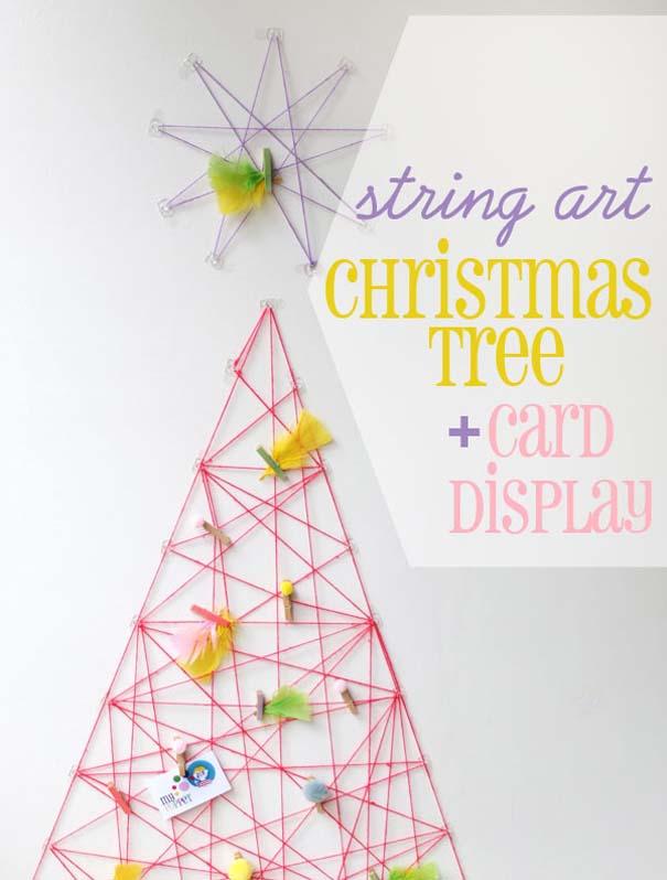 Πρωτότυποι χειροποίητοι Χριστουγεννιάτικοι στολισμοί (25)