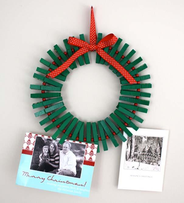 Πρωτότυποι χειροποίητοι Χριστουγεννιάτικοι στολισμοί (27)