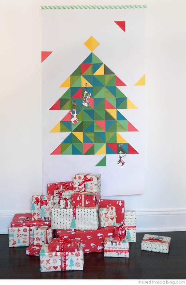 Πρωτότυποι χειροποίητοι Χριστουγεννιάτικοι στολισμοί (38)