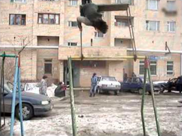 Πως κάνουν κούνια στη Ρωσία