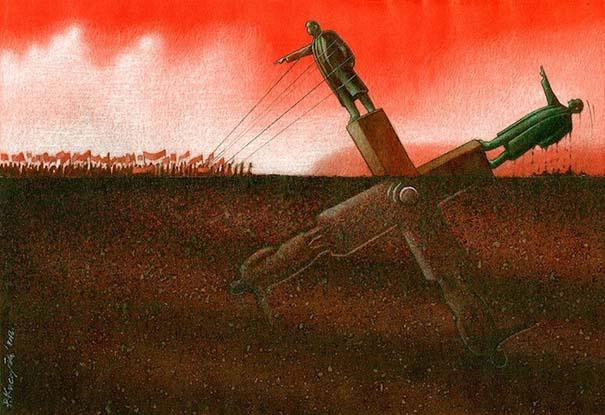 Σατυρικά illustrations που θα σας βάλουν σε σκέψεις (19)