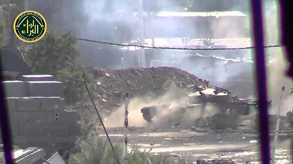 Συριακό τανκ εναντίον κάμερας