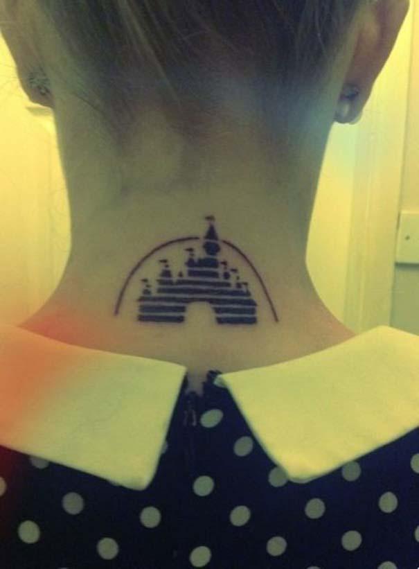 Παραμυθένια τατουάζ με θέμα την Disney (7)