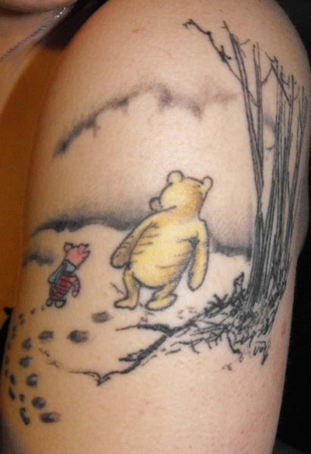 Παραμυθένια τατουάζ με θέμα την Disney (8)