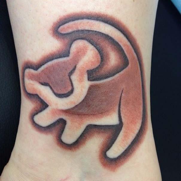 Παραμυθένια τατουάζ με θέμα την Disney (23)