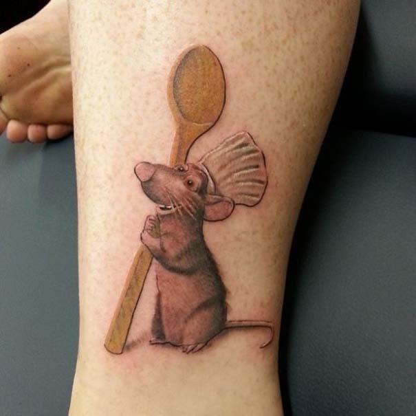 Παραμυθένια τατουάζ με θέμα την Disney (24)