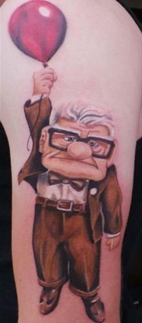Παραμυθένια τατουάζ με θέμα την Disney (25)