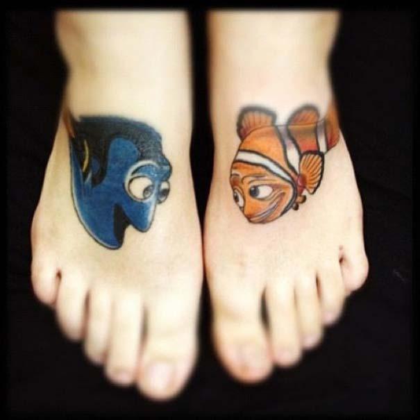 Παραμυθένια τατουάζ με θέμα την Disney (27)