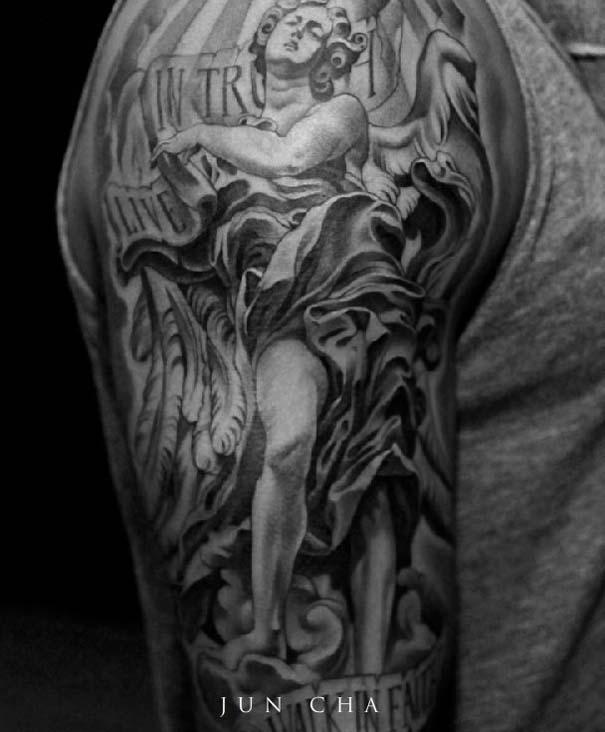 Εκπληκτικά τατουάζ από τον Jun Cha (6)