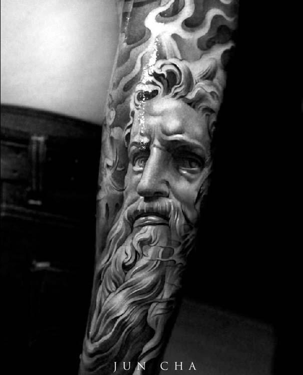 Εκπληκτικά τατουάζ από τον Jun Cha (7)