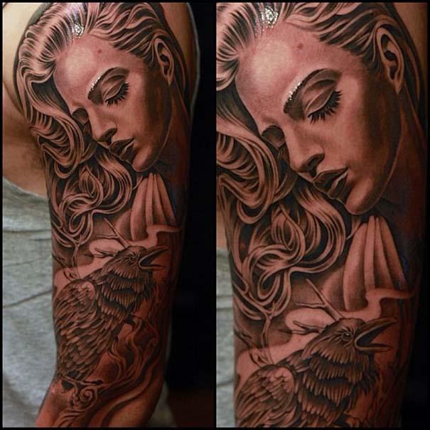 Εκπληκτικά τατουάζ από τον Jun Cha (17)