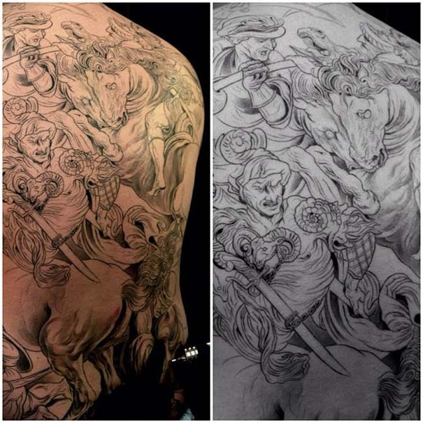 Εκπληκτικά τατουάζ από τον Jun Cha (24)