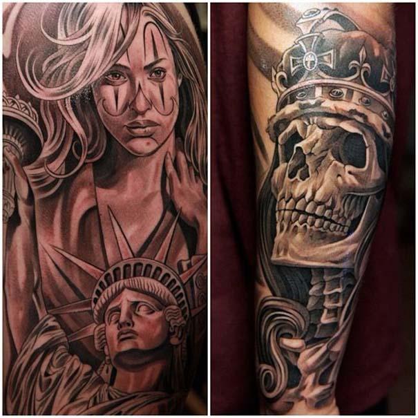Εκπληκτικά τατουάζ από τον Jun Cha (1)