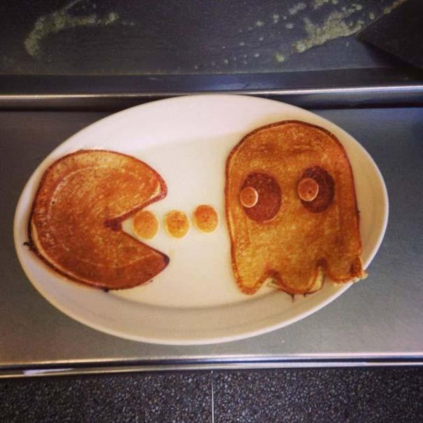 Τέχνη με τηγανίτες (2)