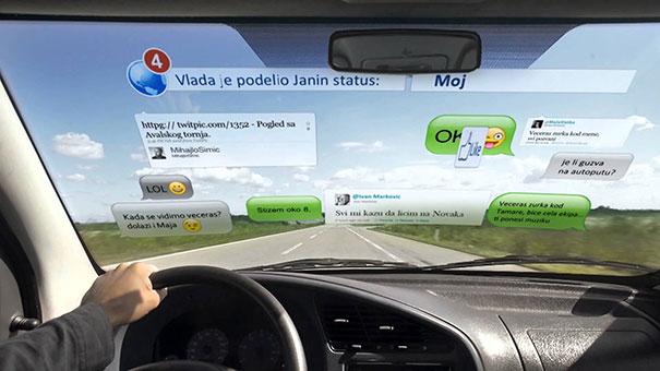 Τι συμβαίνει καθώς οδηγείς και χρησιμοποιείς το κινητό σου