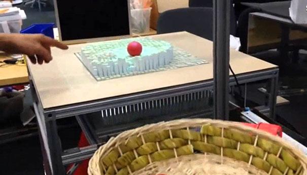 Τραπέζι που μορφοποιείται ανάλογα με την κίνηση