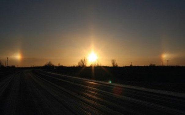 Τριπλός ήλιος εμφανίστηκε στον ουρανό της Κίνας