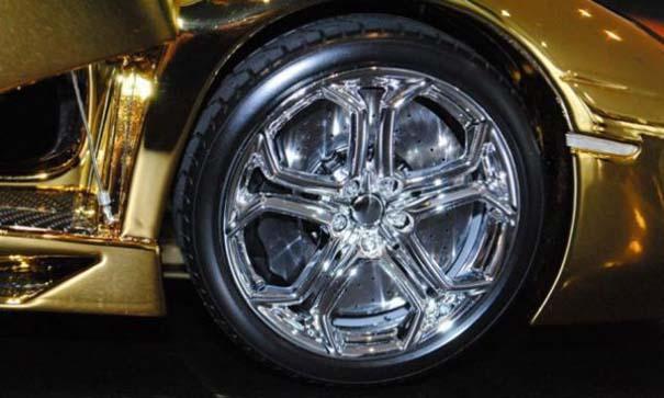 Χρυσή Lamborghini μινιατούρα (9)
