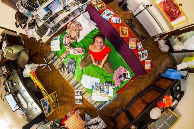 Υπνοδωμάτια ανθρώπων απ' όλο τον κόσμο (3)