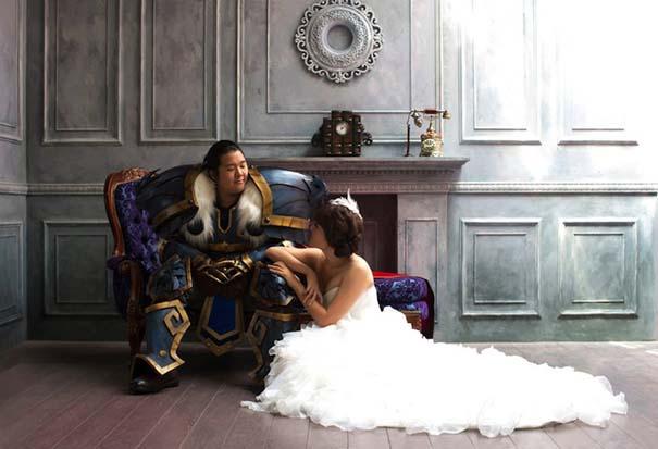 Ζευγάρι έκανε γάμο World Of Warcraft (1)