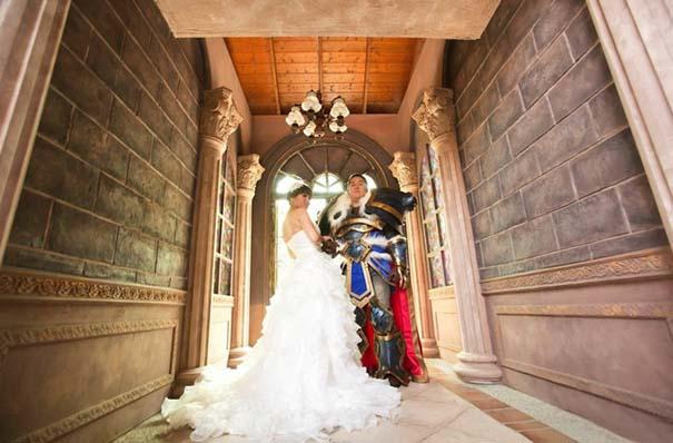 Ζευγάρι έκανε γάμο World Of Warcraft (2)