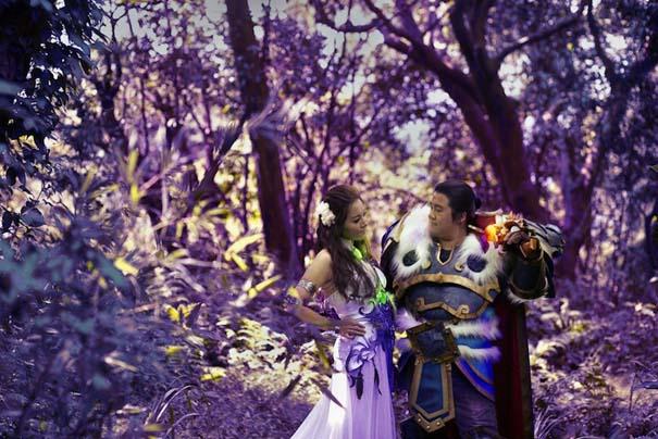 Ζευγάρι έκανε γάμο World Of Warcraft (4)
