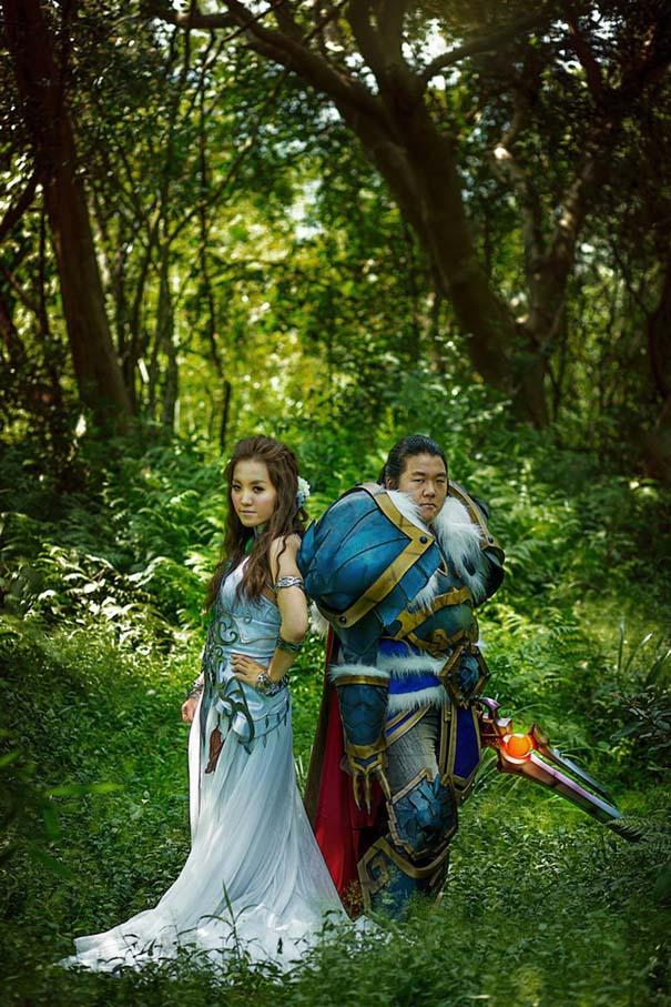 Ζευγάρι έκανε γάμο World Of Warcraft (5)
