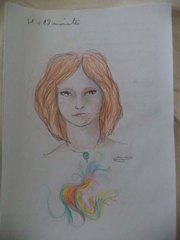 Ζωγράφισε 11 πορτραίτα του εαυτού της υπό την επήρεια LSD (1)
