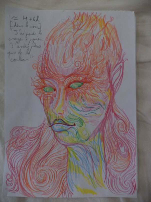 Ζωγράφισε 11 πορτραίτα του εαυτού της υπό την επήρεια LSD (7)