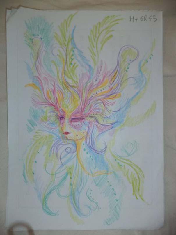 Ζωγράφισε 11 πορτραίτα του εαυτού της υπό την επήρεια LSD (8)