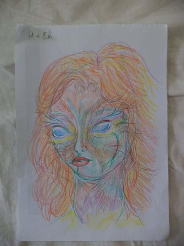 Ζωγράφισε 11 πορτραίτα του εαυτού της υπό την επήρεια LSD (9)