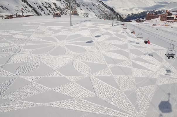 Απίστευτα σχέδια μεγάλης κλίμακας στο χιόνι (8)