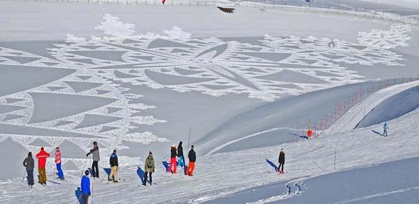 Απίστευτα σχέδια μεγάλης κλίμακας στο χιόνι (9)