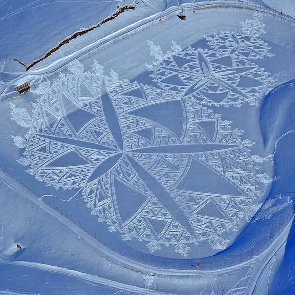 Απίστευτα σχέδια μεγάλης κλίμακας στο χιόνι (10)