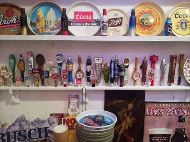 Η απίστευτη συλλογή ενός λάτρη της μπύρας (1)