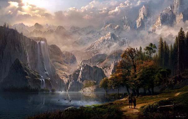 Απίστευτοι ψηφιακοί κόσμοι από τον Sarel Theron (8)