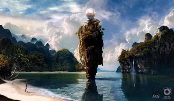 Απίστευτοι ψηφιακοί κόσμοι από τον Sarel Theron (9)