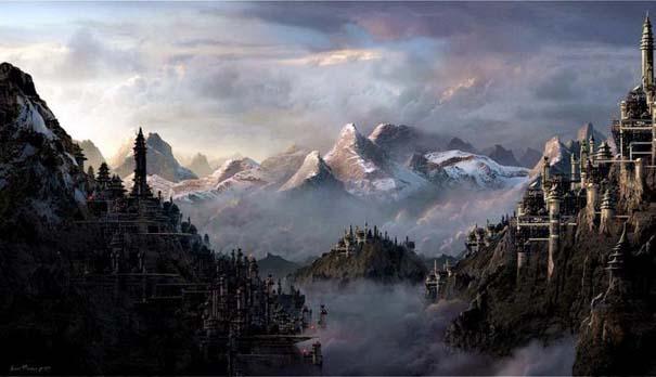 Απίστευτοι ψηφιακοί κόσμοι από τον Sarel Theron (15)