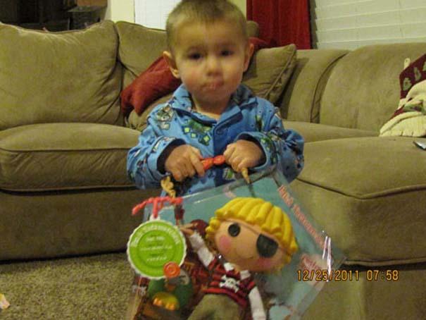 Απογοήτευση από χριστουγεννιάτικα δώρα (2)