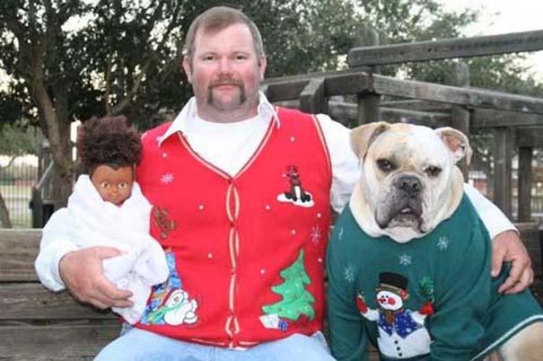 Αστείες και αλλόκοτες χριστουγεννιάτικες φωτογραφίες (3)