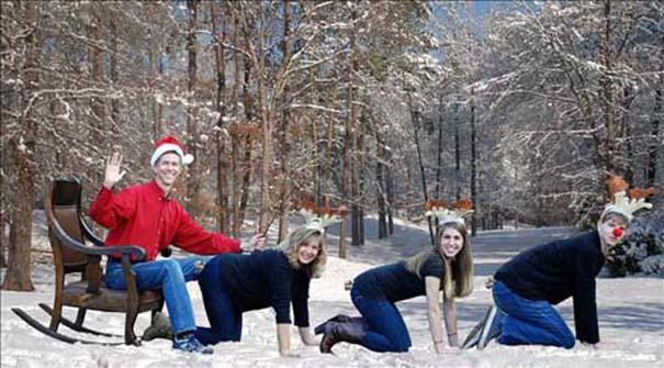 Αστείες και αλλόκοτες χριστουγεννιάτικες φωτογραφίες (16)